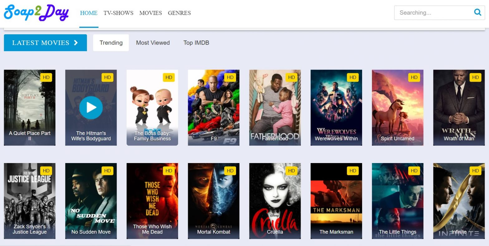 Soap2day: Free Movie Streaming Sites